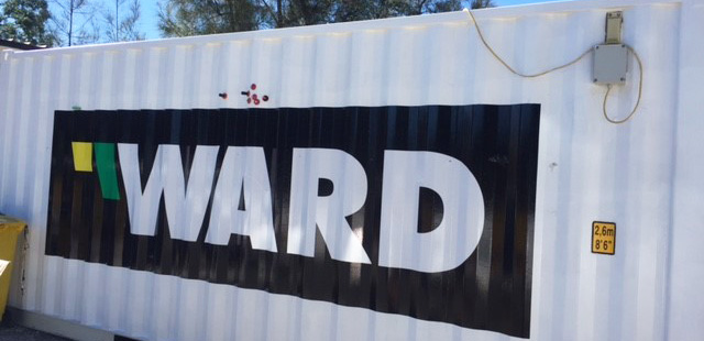 Ward Site Container