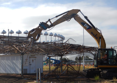 Sydney Airport Demolition