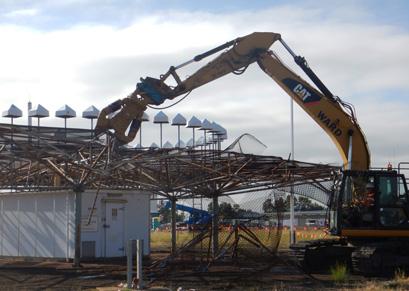 Sydney Airport Demolition