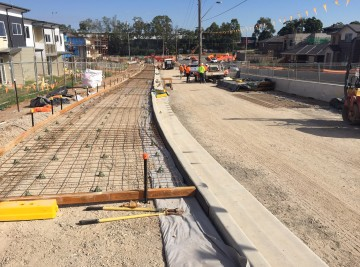 Glenfield Road Upgrade