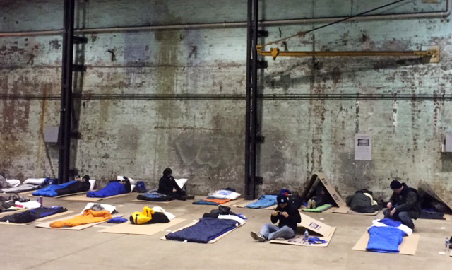 CEO Sleepout beds