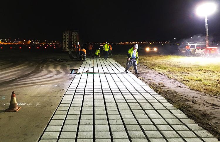 Sydney Airport Runway Flank Stabilisation