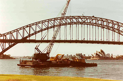 Harbour Bridge 1980s