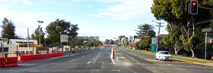 Victoria Road Gladesville Road Widening August 2016