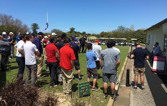2nd Peter Ward Golf Day - October 2016