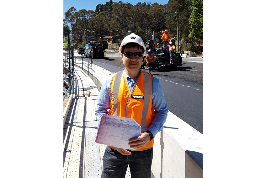Adrian Wong at Mount Victoria